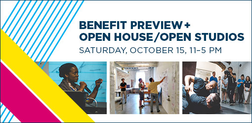 Benefit Preview + Open House / Open Studios