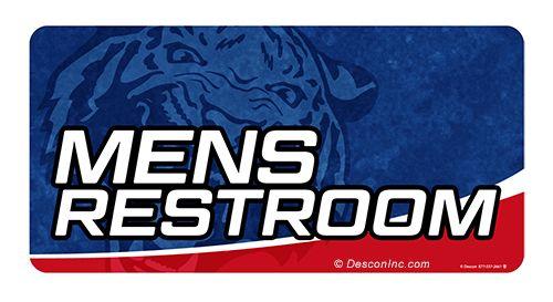 Location Sign: Mens Restroom
