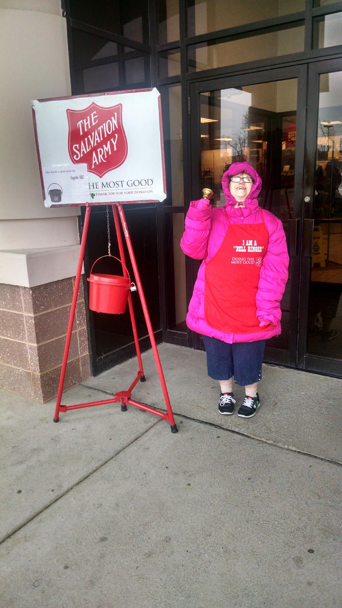 Naomi D Salvation Army 2014