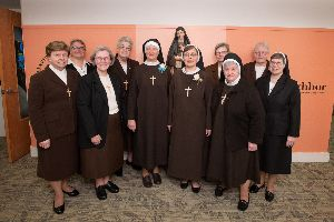 Two Novices Profess First Vows