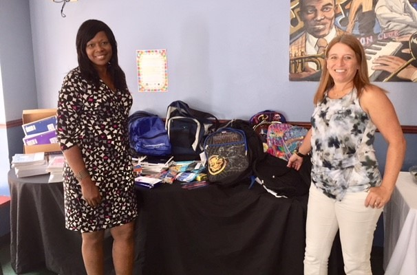 Milwaukee Women's Center Kids Receive Back-to-School Supplies from the Community