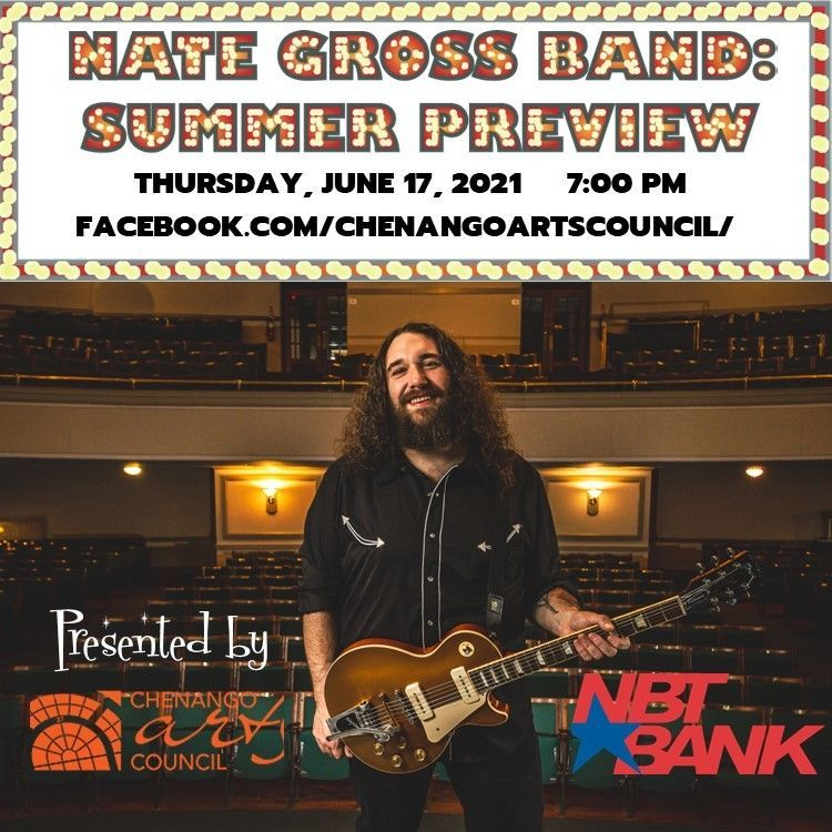Nate Gross Band Summer Preview