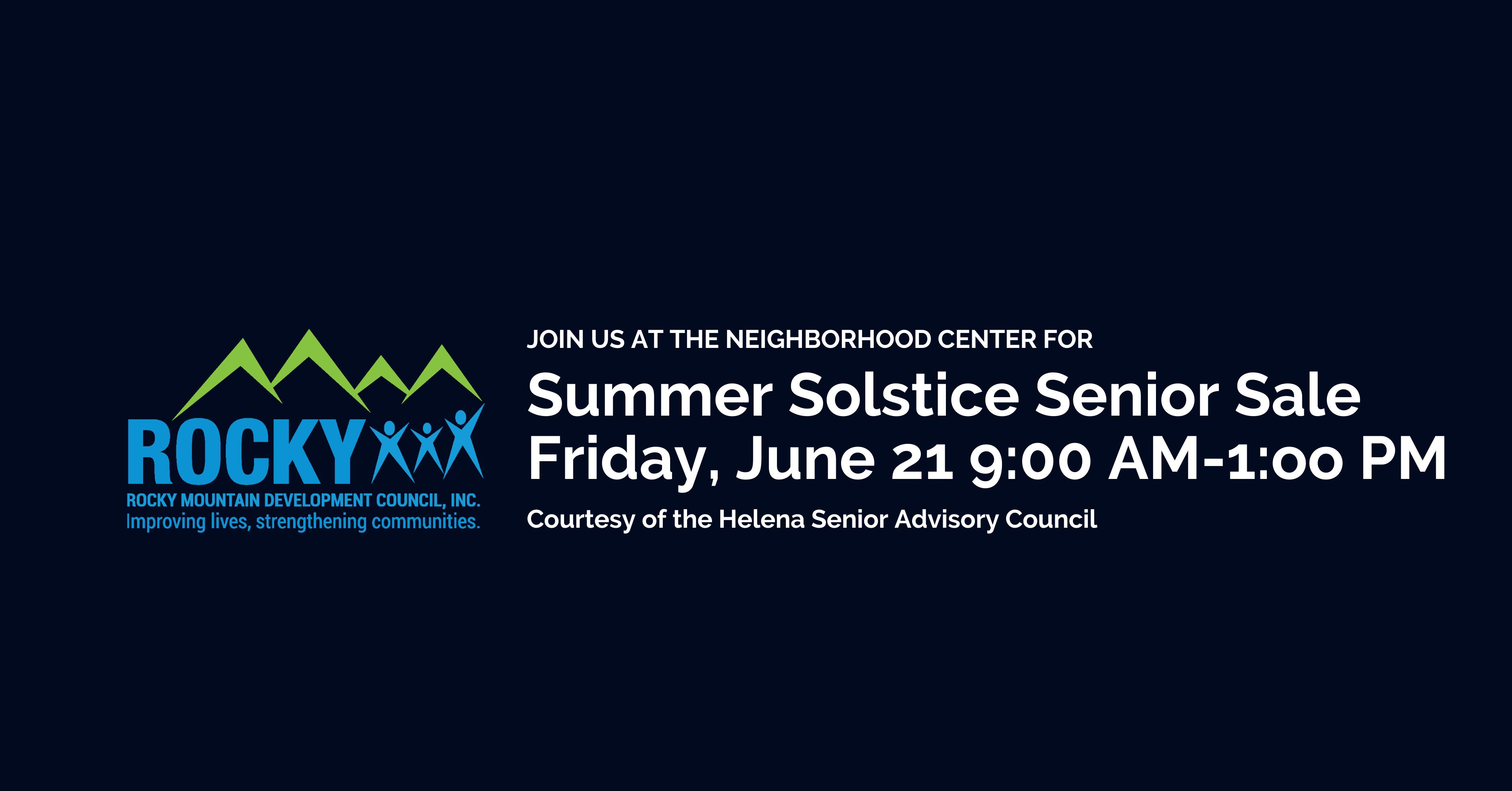 Summer Solstice Senior Sale