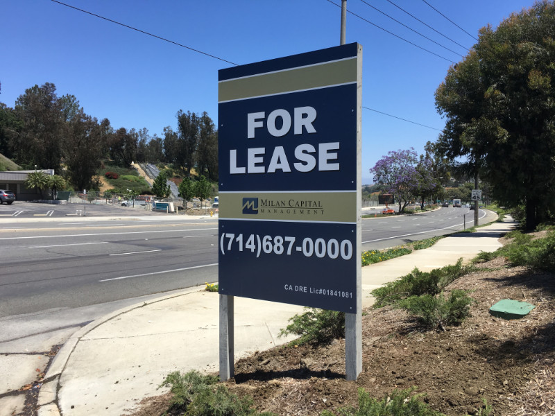 Property For Lease Sign