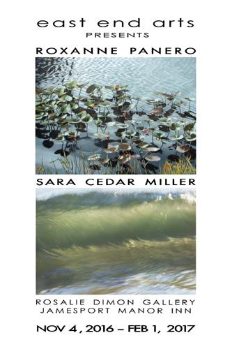 Rosalie Dimon Gallery Show: Roxanne Panero & Sara Cedar Miller