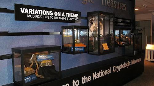 Variations on a Theme - Cryptologic Treasures Exhibit