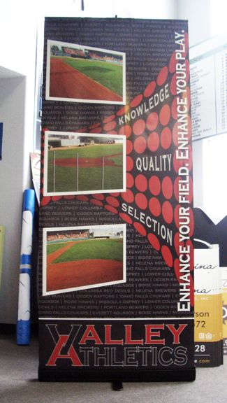 Valley Athletics Retractable Banner
