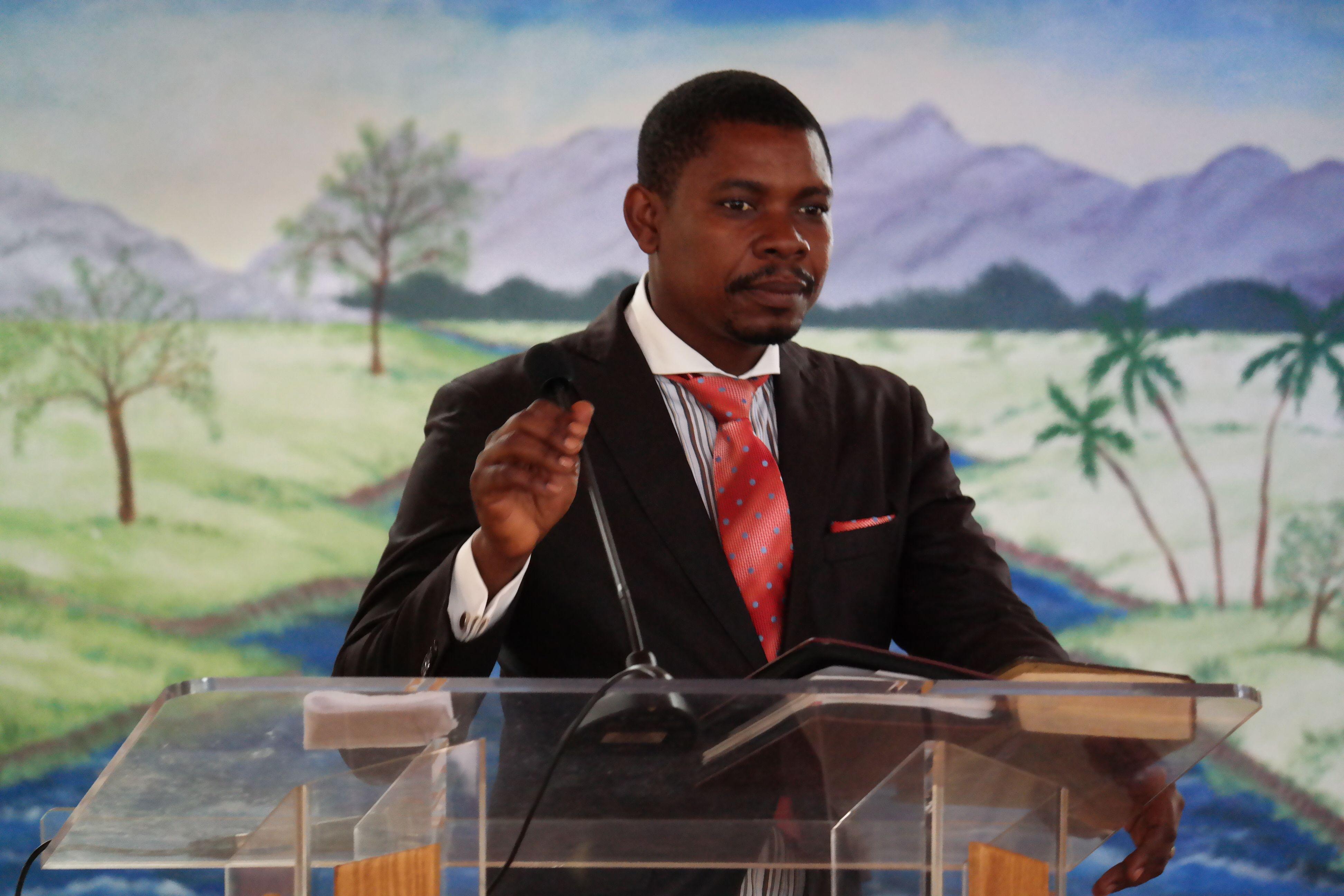 Youth Pastor Louis Wilnes