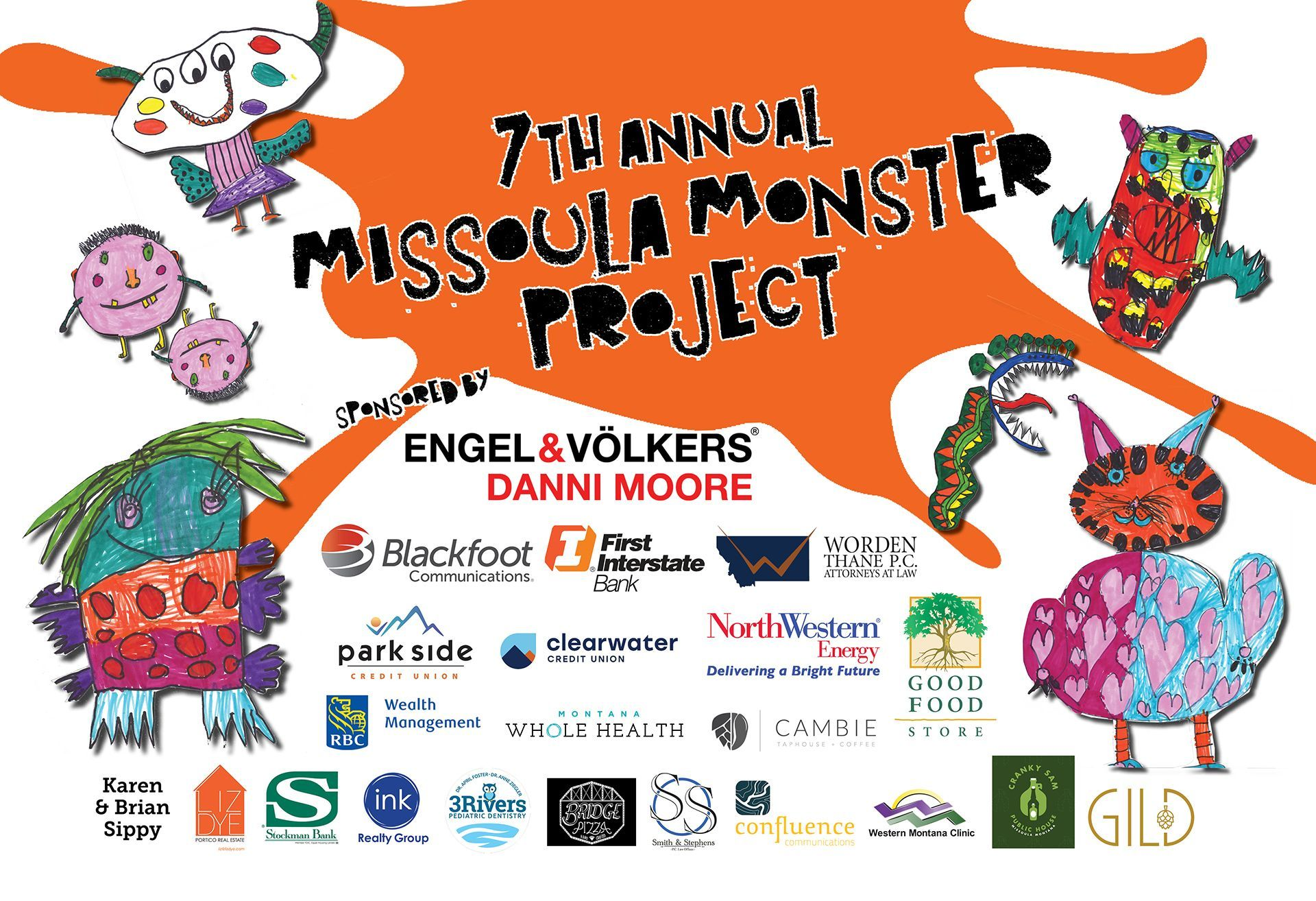 7th Annual Missoula Monster Project Gallery Opening