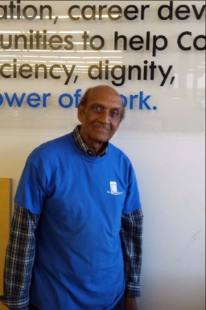 Shajji Shafi celebrates 25 years with Goodwill!