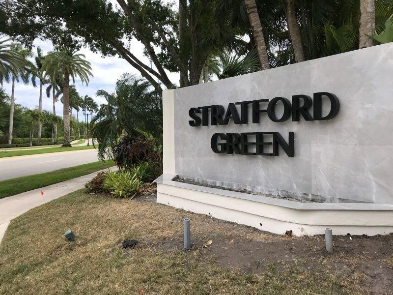 Community Entrance Sign Refurbishment - Sign Partners in Boca Raton Raton