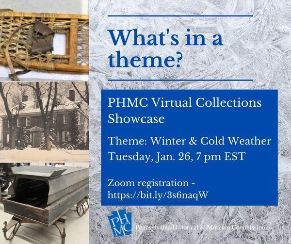 PHMC Virtual Collections Showcase