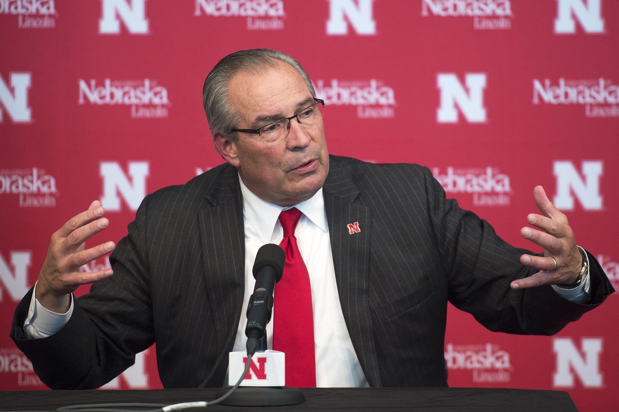 August - Bill Moos UNL Athletic Director