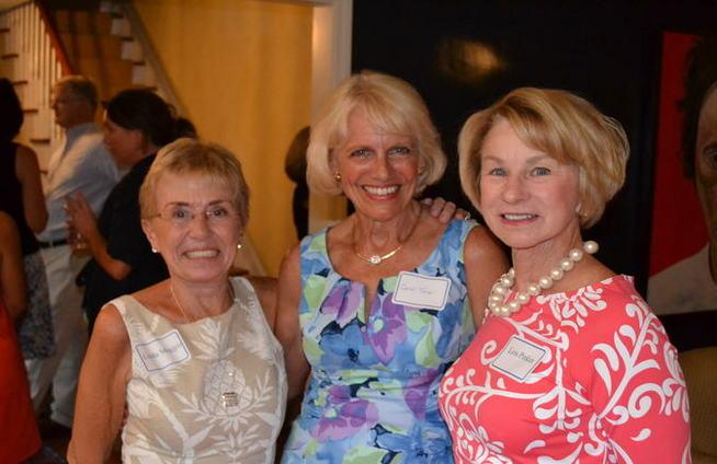 Linda Maggio, Carol Tener, Lois Pinkin