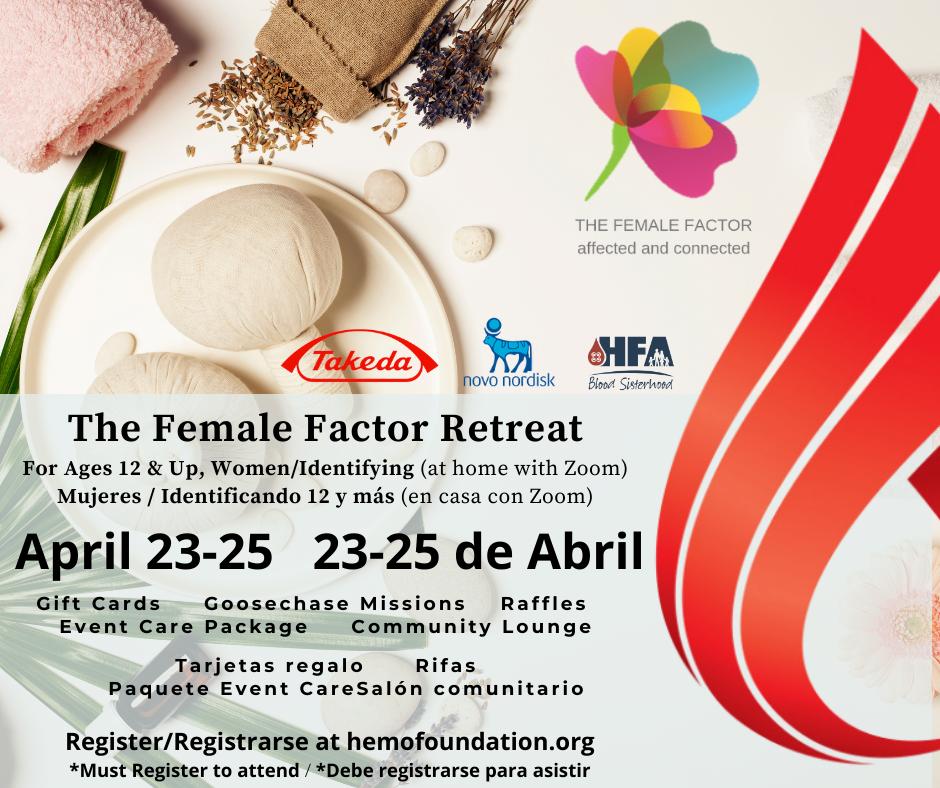 The Female Factor Virtual Retreat 11/13-11/14