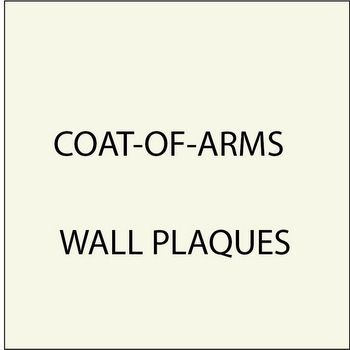 N23349 - 7. Coat-of-Arms Wall Plaques