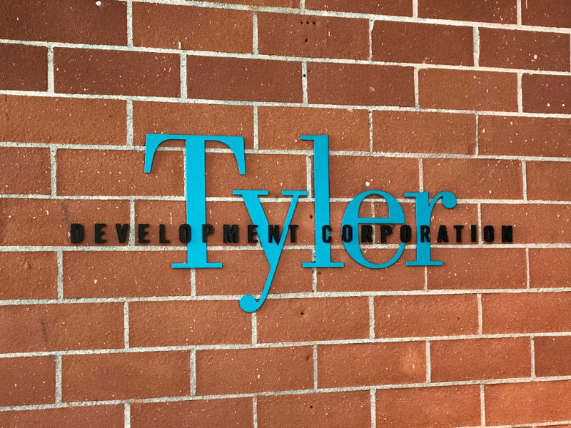 3D Logo Lobby Signs for Development Companies in Los Angeles