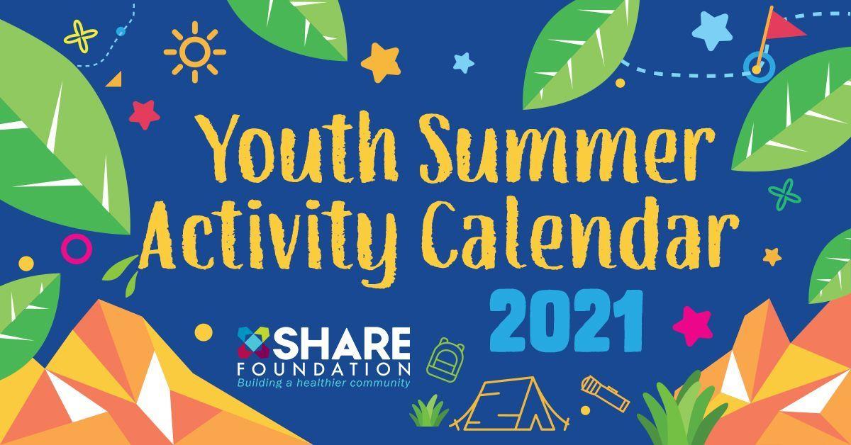 2021 Youth Summer Activity Calendar