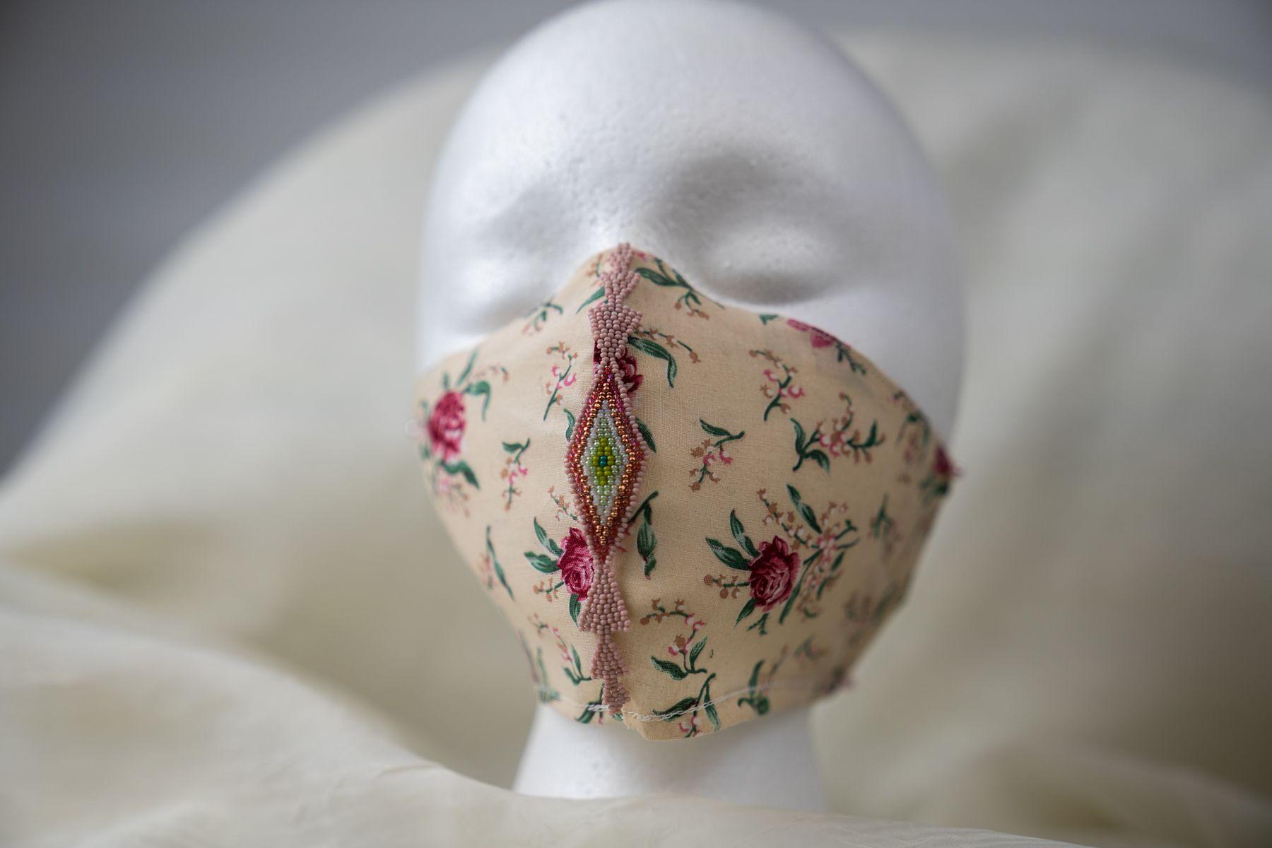 Beaded Mask