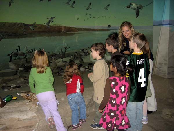 Theme-based guided museum activities are included with your party.