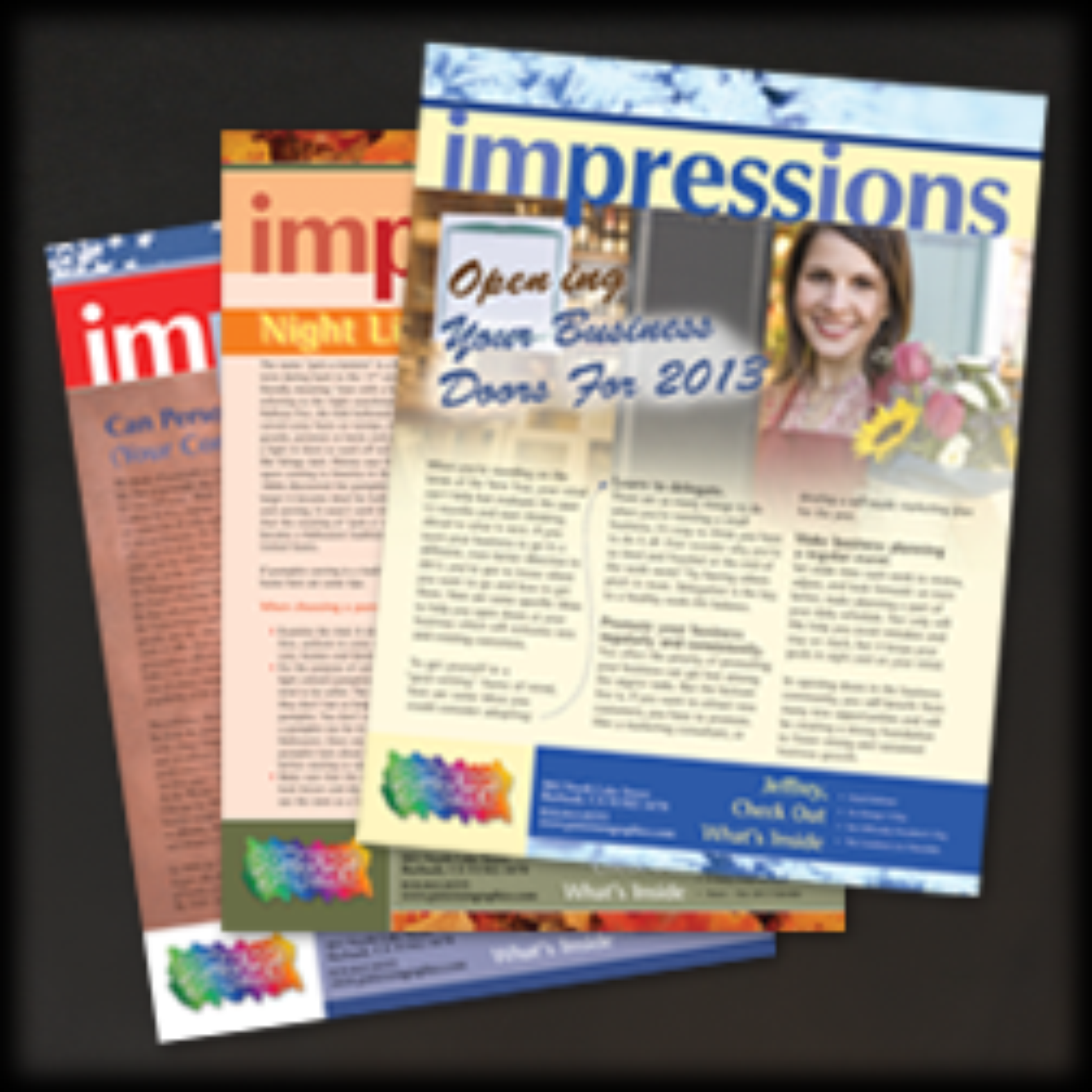 . . . your best source for NEWSLETTERS that beg to be picked up and read. Click image for more information.
