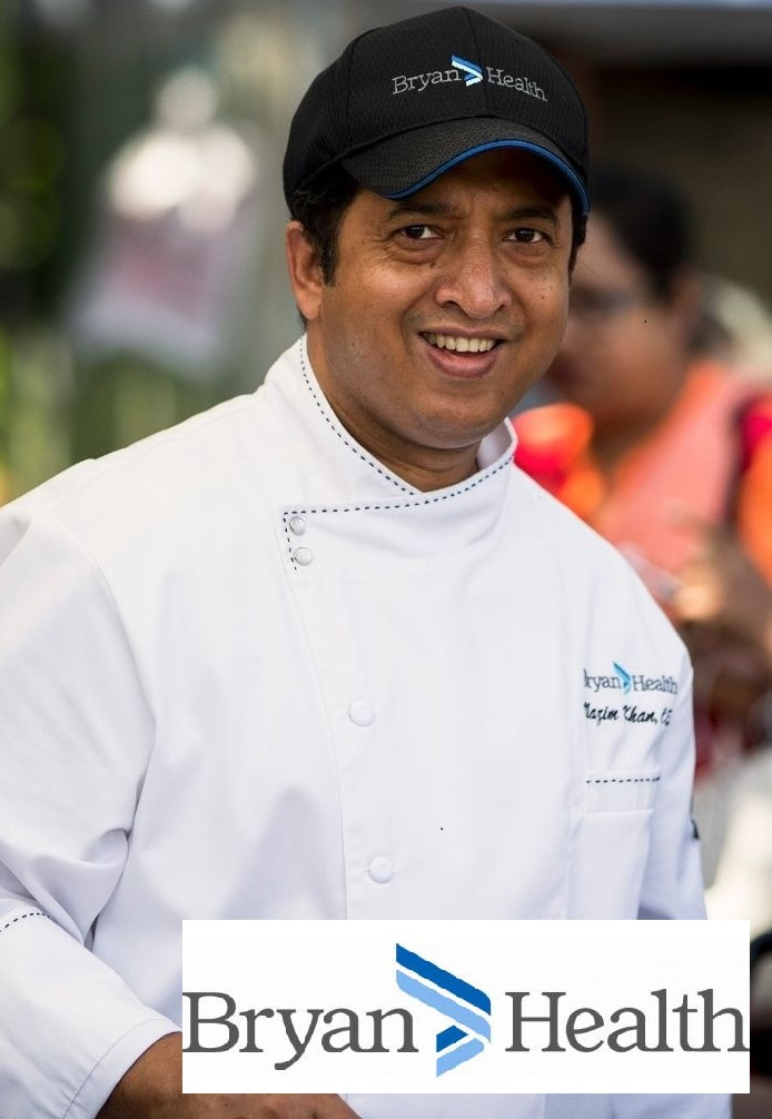 Chef Demonstration at the Market with Chef Nazim Khan of Bryan Health