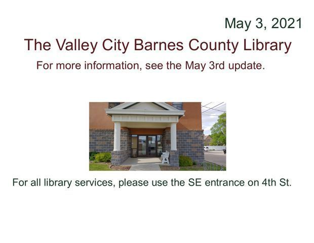 2021 May 3rd Library Update
