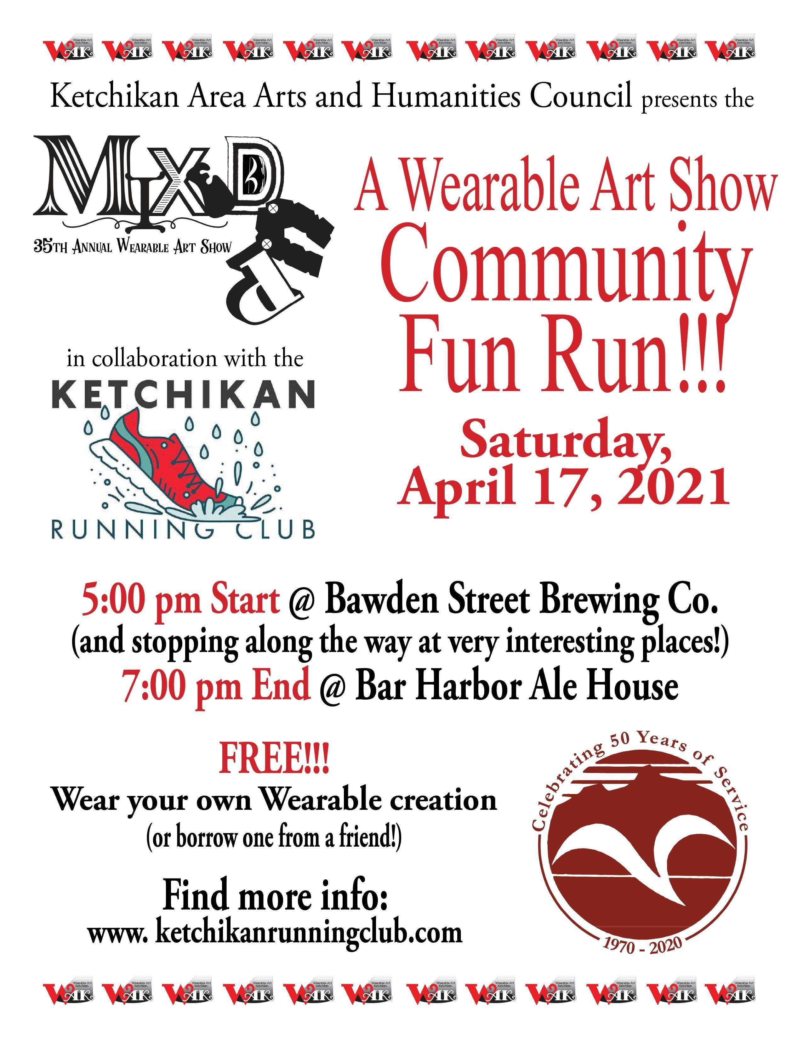 A Wearable Art Show Community Fun Run!