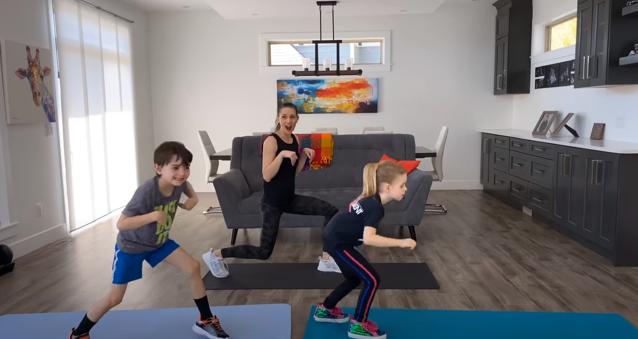 Toy Story 4 Workout