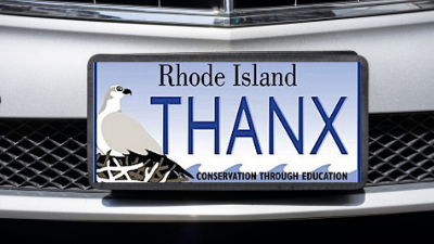 Osprey License Plate