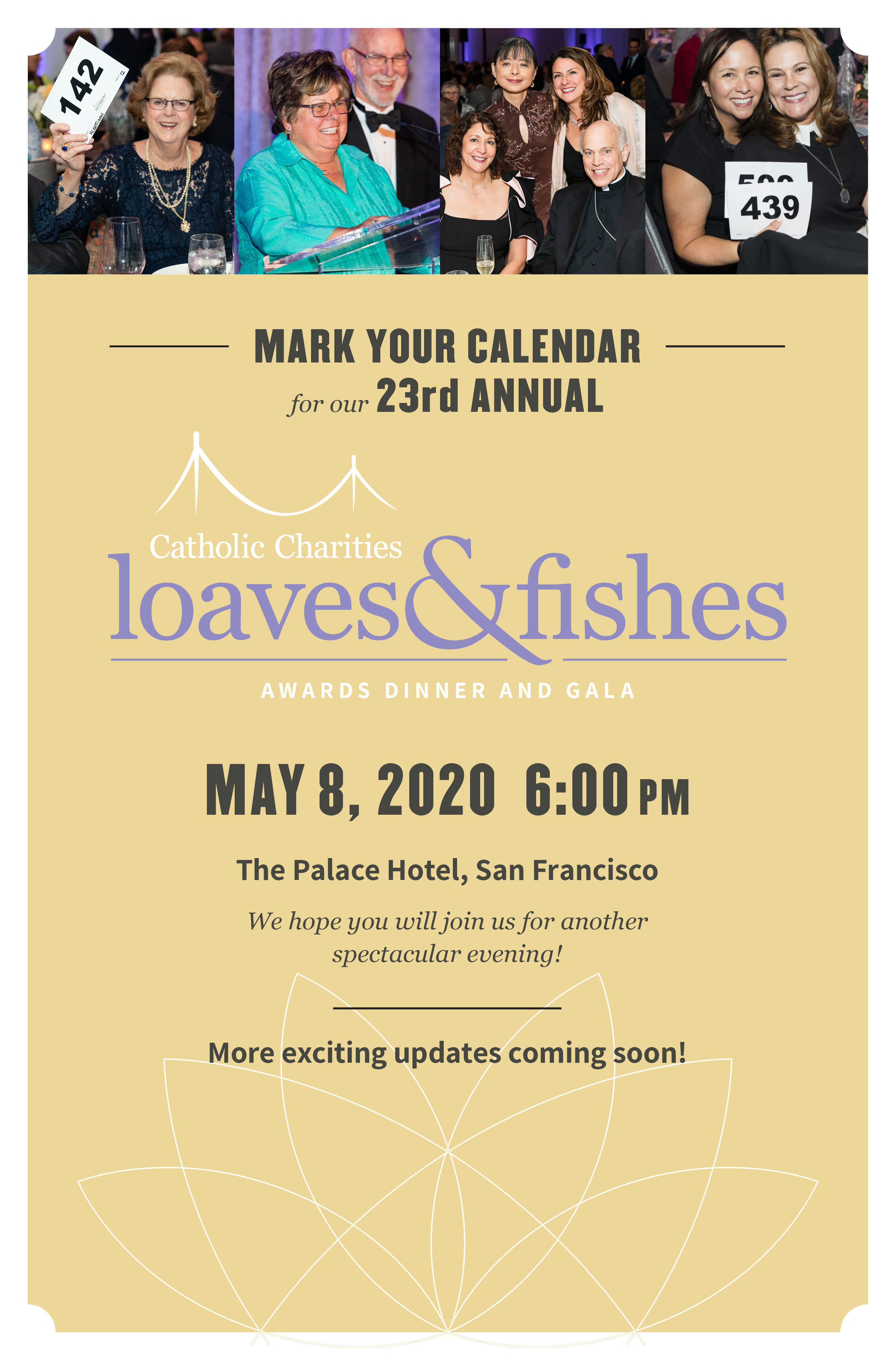 Catholic Charities Loaves and Fishes 2019 Logo