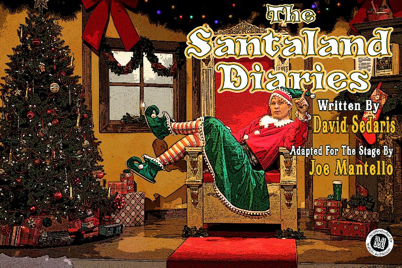 Pullen Park Christmas 2019.The Santaland Diaries
