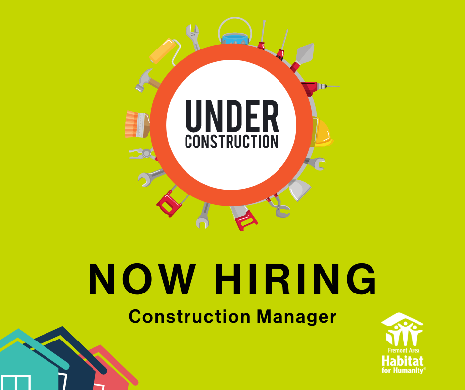 Hiring - Construction Manager