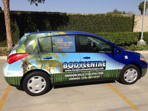 Partial vehicle wraps Orange County