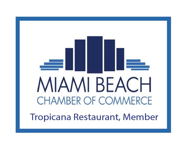 UP-2000 - Carved Wall Plaque of the Logo of the Miami Beach Chamber of Commerce,  Artist Painted