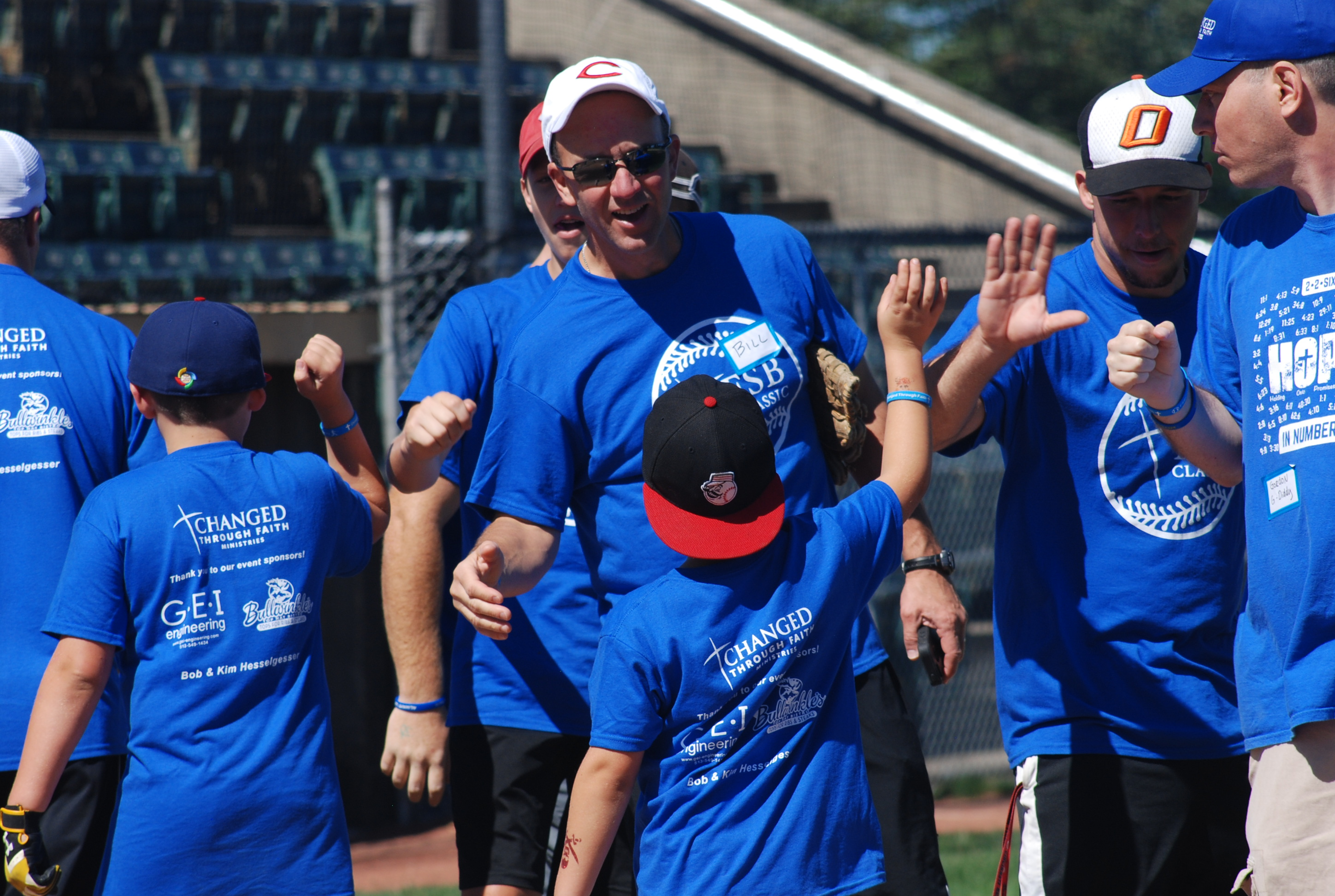 The Father & Son Baseball Classic was a great success!