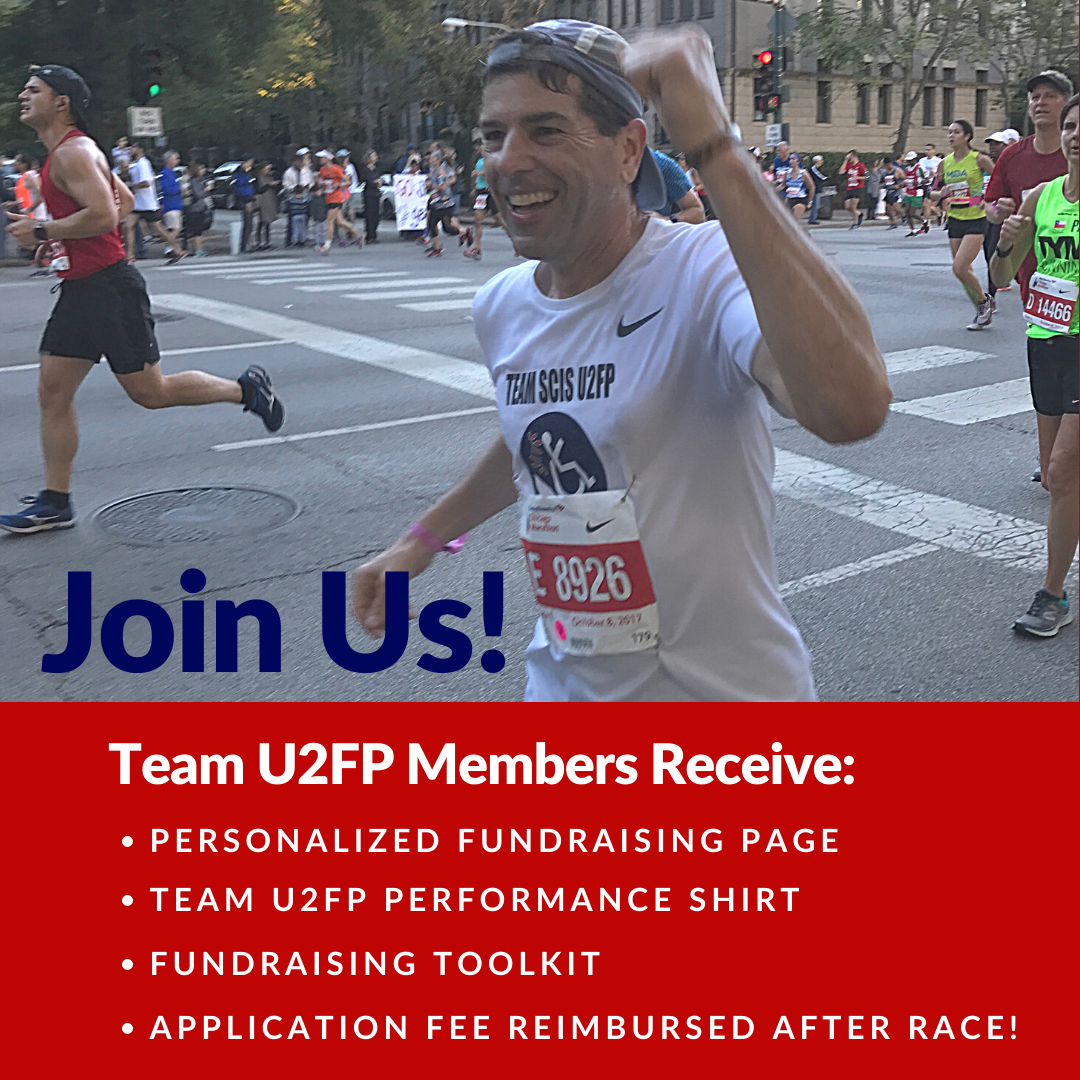 Don't Forget: Join Team U2FP for the Bank of America Chicago Marathon!