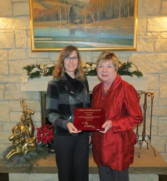 Jodie Nolan Named 2016 J. Robert Sandberg Award Winner