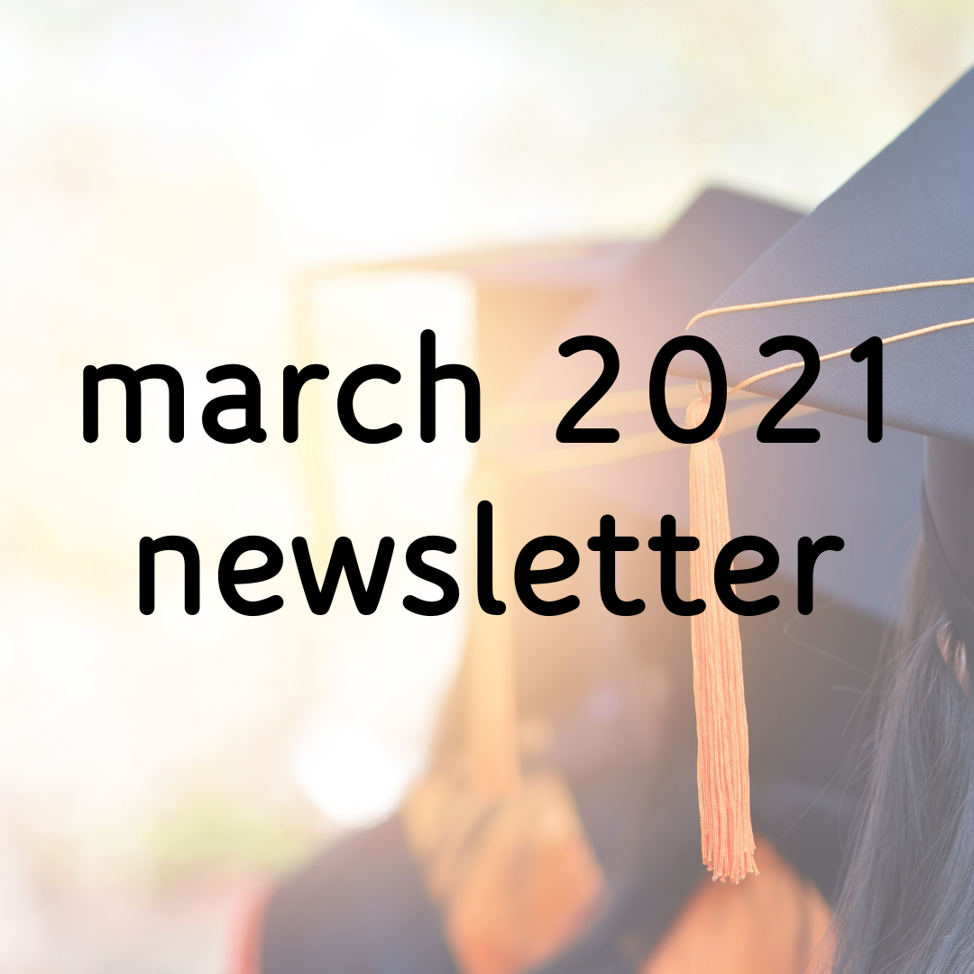 March 2021 Newsletter