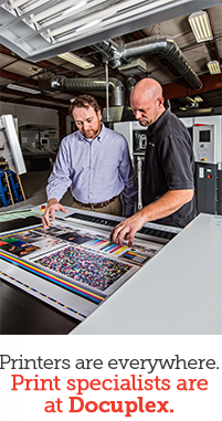 Printers are everywhere. Print specialists are at Docuplex.