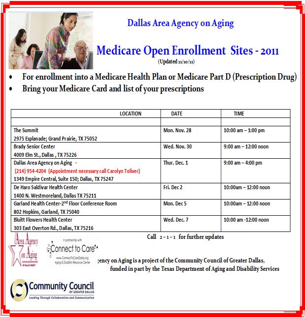 Medicare Listings updated 11.10.11