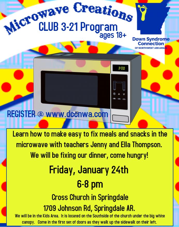 Club 3-21 Microwave Creations