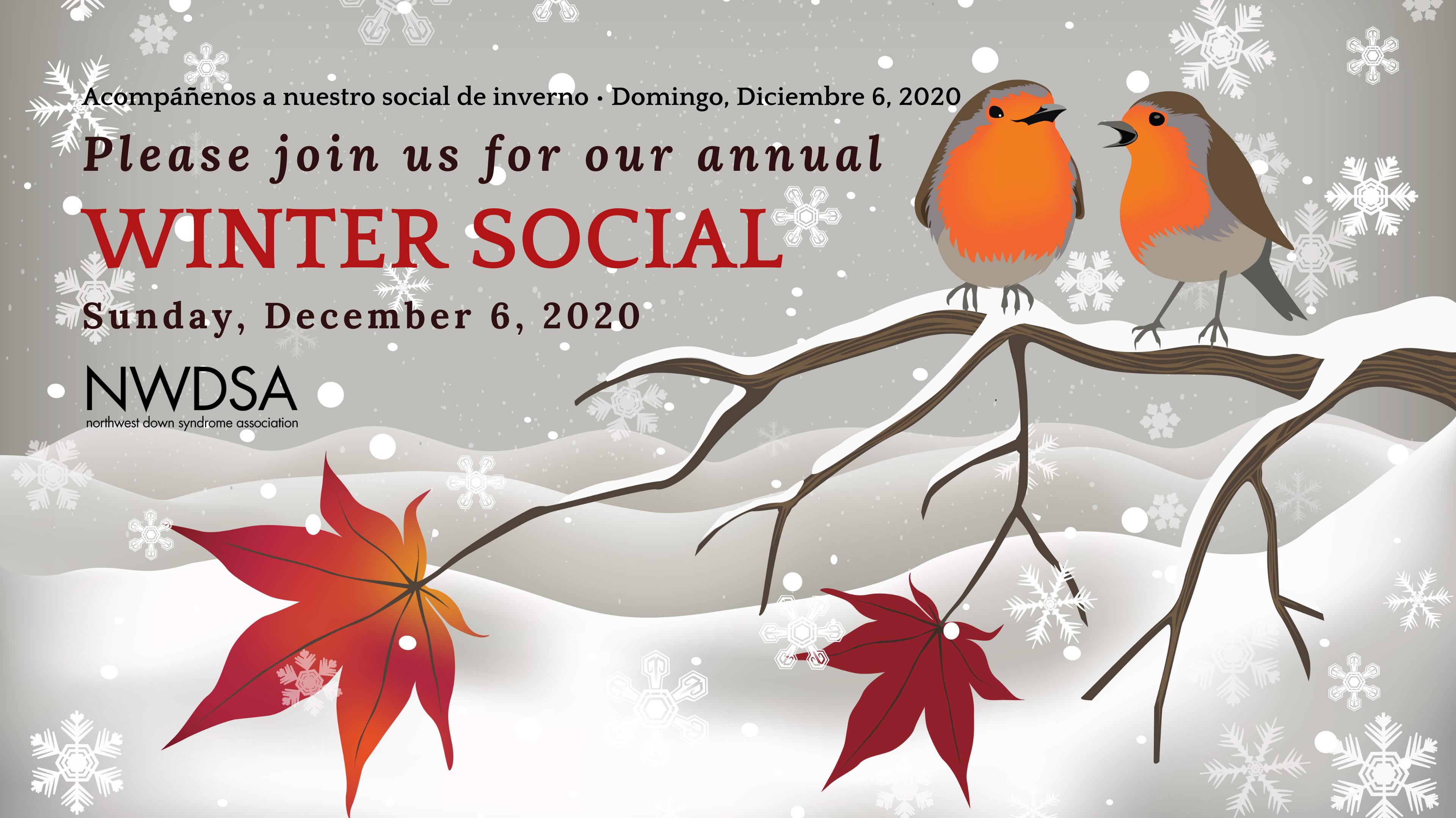 NWDSA Winter Social / Social de Inverno