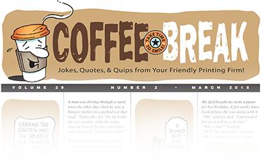 Coffee Break Newsletter