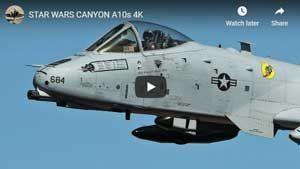 A-10s at Star Wars Canyon