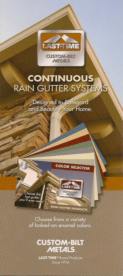 Brochures: Rain Gutter