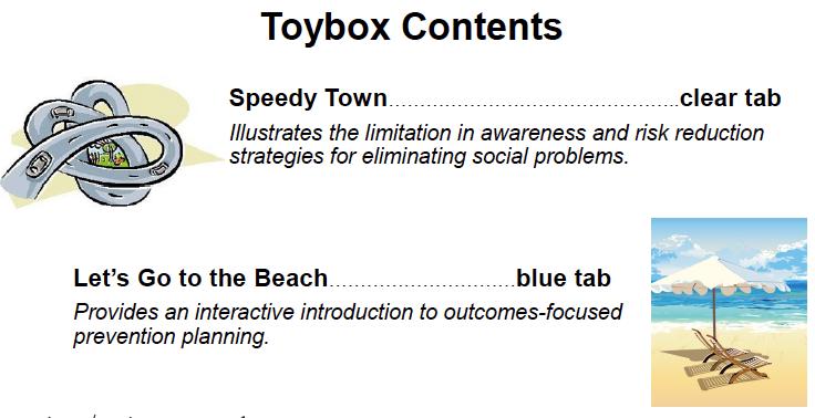 Prevention Toybox