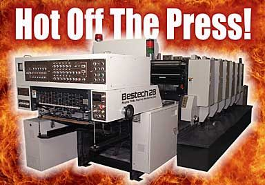 Our 6 Color + Coater Printing Press
