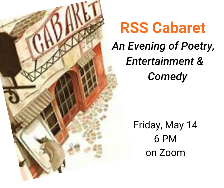 RSS Cabaret:  An Evening of Poetry, Entertainment & Comedy