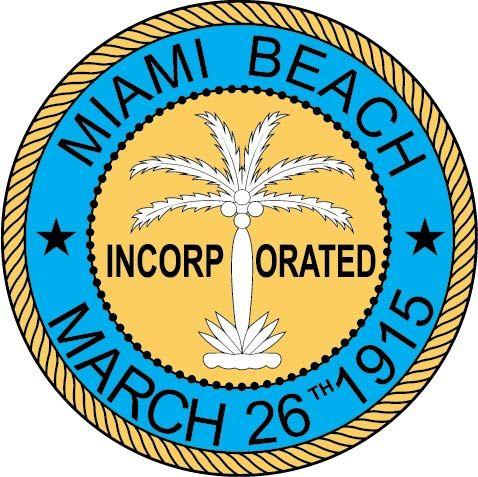 X33094 -  Seal of the City of Miami Beach, Florida